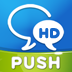WeChat for Facebook chat with Push HD