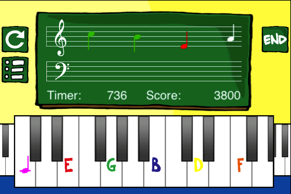 Screenshot Piano Student!